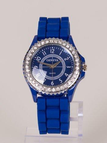 Geneva JELLY zegarek damski z cyrkoniami na tarczy