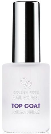 Golden Rose Nail Expert Top Coat Mega Shine 11 ml