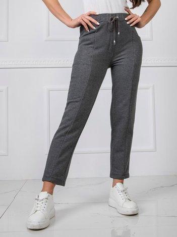 Grafitowe spodnie BSL