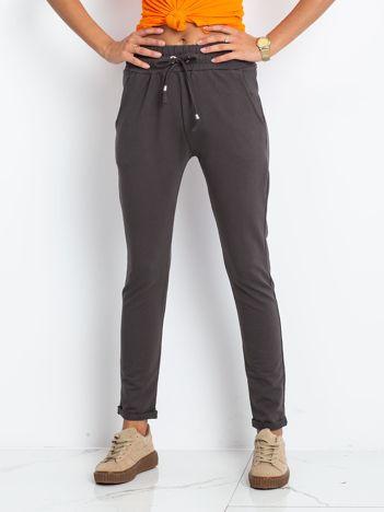 Grafitowe spodnie Cadence