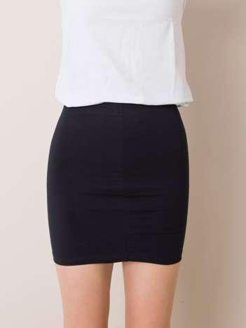 Granatowa bawełniana spódnica dla dziewczynki