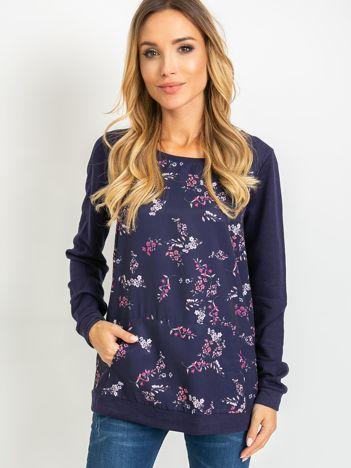 Granatowa bluza Mayfair