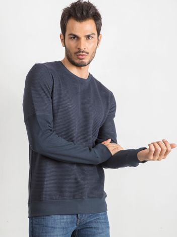 Granatowa bluza męska Ricardo