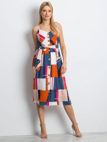 Granatowa sukienka Chunkier
