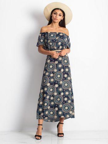Granatowa sukienka Faraway
