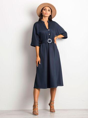 Granatowa sukienka Imaginable