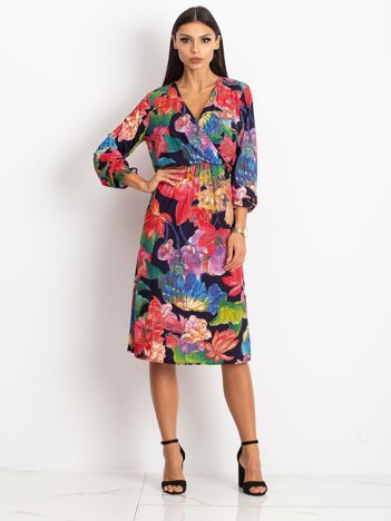 Granatowa sukienka Light