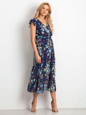 5e42c6ab4e Granatowa sukienka Luxor