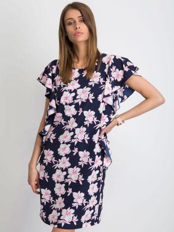 8eafd8b23f Granatowa sukienka Thassos
