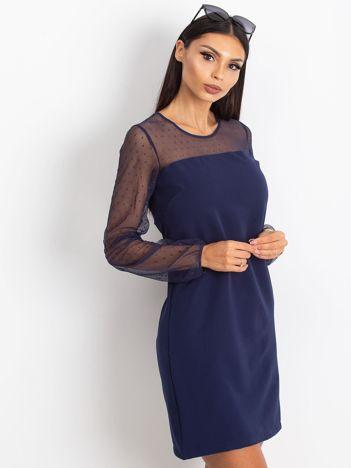 Granatowa sukienka Vanity