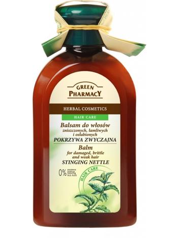 """Green Pharmacy Balsam do włosów zniszczonych, łamliwych, osłabionych Pokrzywa zwyczajna"""""""