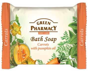 Green Pharmacy Body Care Mydło w kostce Carrots 100 g