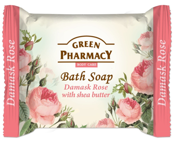 Green Pharmacy Body Care Mydło w kostce Damask Rose 100 g