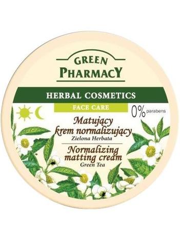 Green Pharmacy Herbal Cosmetics Krem do twarzy matujący normalizujący z zieloną herbatą 150 ml