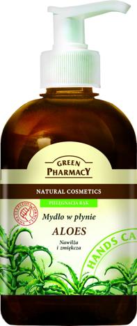 Green Pharmacy Mydło w płynie Aloes 465 ml
