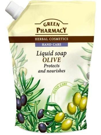 Green Pharmacy Mydło w płynie - zapas Oliwka 465 ml