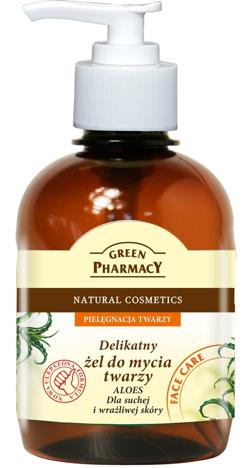 """Green Pharmacy Żel do mycia twarzy Aloes"""""""