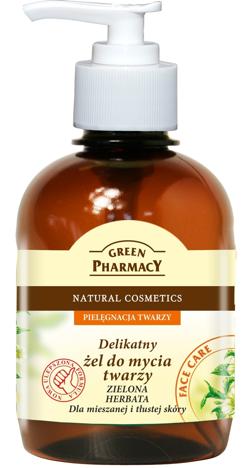 """Green Pharmacy Żel do mycia twarzy Zielona Herbata"""""""