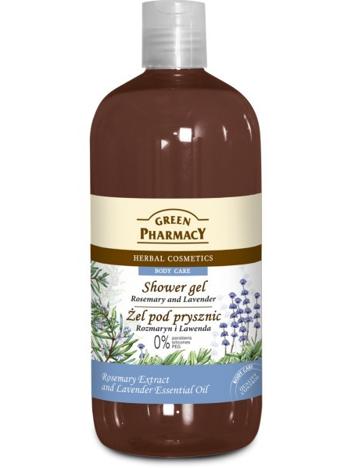Green Pharmacy Żel pod prysznic Rozmaryn & Lawenda 500 ml