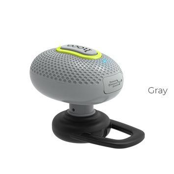 HOCO E28 Słuchawka bluetooth 4.1 z mikrofonem szara