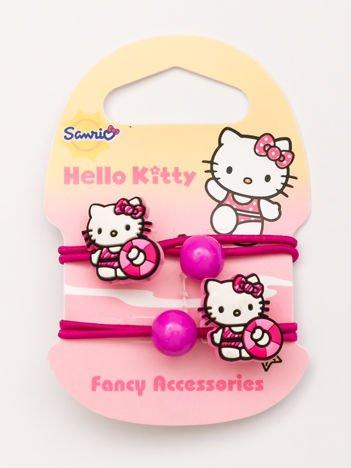 Hello Kitty Komplet 2 gumek do włosów dla dziewczynki