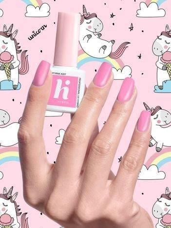 Hi Hybrid Lakier hybrydowy Unicorn nr 207 Soft Pink 5 ml