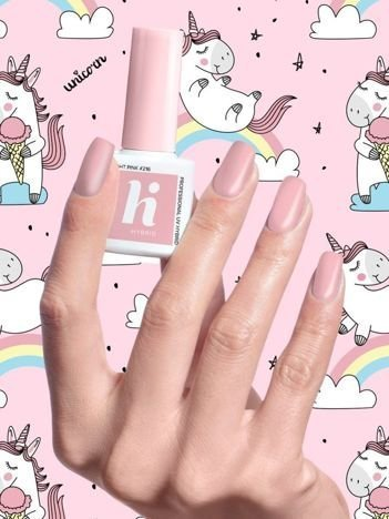 Hi Hybrid Lakier hybrydowy Unicorn nr 216 Light Pink 5 ml