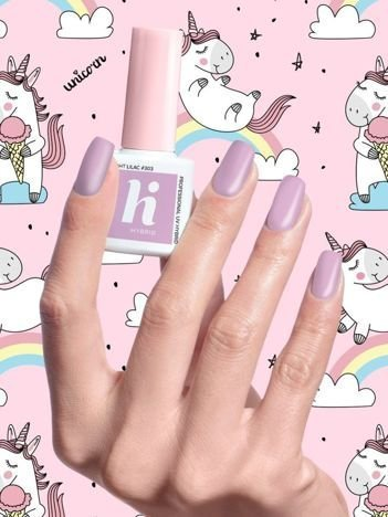 Hi Hybrid Lakier hybrydowy Unicorn nr 303 Light Lilac 5 ml