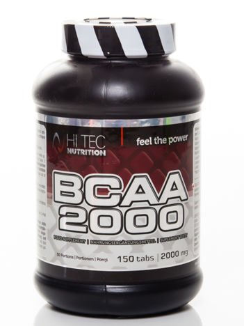 HiTec - Aminokwasy BCAA 2000 - 150 tabs