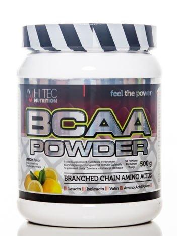 HiTec - Aminokwasy BCAA Powder - 500g lemon