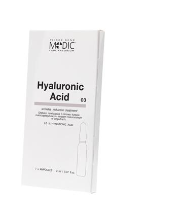 Hyaluronic ACID - Ampułki MEDIC z kwasem hialuronowym