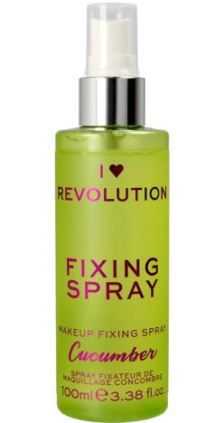 I Heart Revolution Fixing Spray Mgiełka utrwalająca makijaż Cucumber 100ml