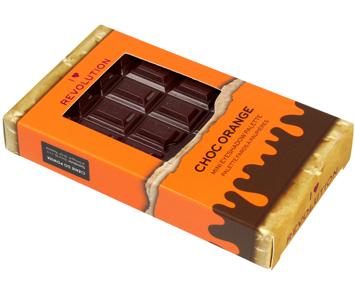 I Heart Revolution Mini Chocolate Palette Mini Paletka 8 cieni do powiek Choc Orange 2.7g