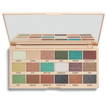 I ♥ Revolution Chocolate Macaroons Palette Paleta 18 Cieni Do Powiek