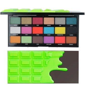 I ♥ Revolution Slime Chocolate Palette Paleta 18 Cieni Do Powiek