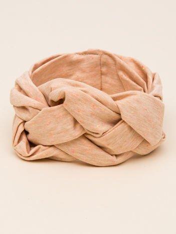 INCA Opaska na głowę dla noworodka jasnobrązowa