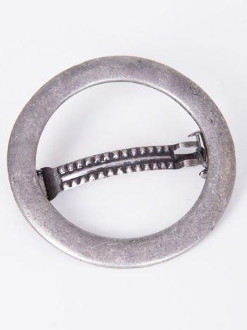 INCA Spinka do włosów srebrna 5,5 cm