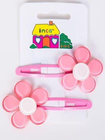 INCA Spinki do włosów różowe 5 cm Komplet 2 szt.