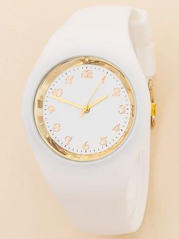 JELLY biały zegarek damski