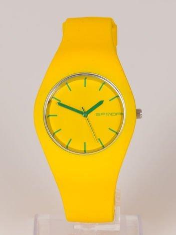 JELLY zółty zegarek damski HIT!