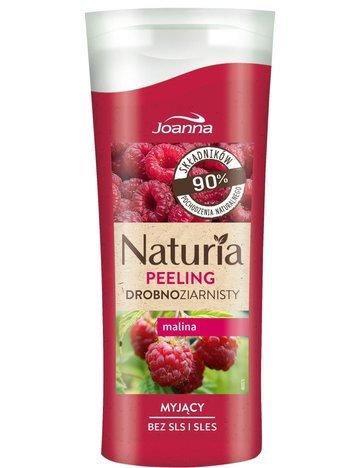 JOANNA NATURIA Peeling Drobnoziarnisty Malina 100 g