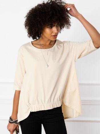 Jasnobeżowa bluzka Lily