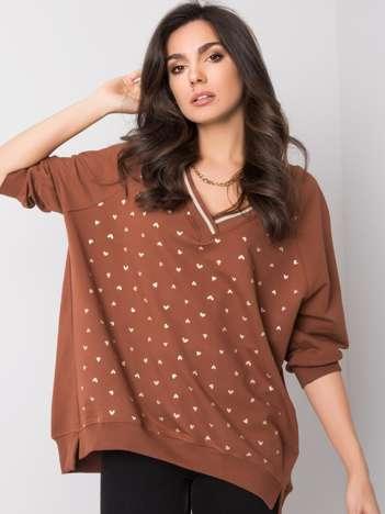 Jasnobrązowa bluza Helen
