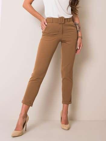 Jasnobrązowe spodnie Melissa