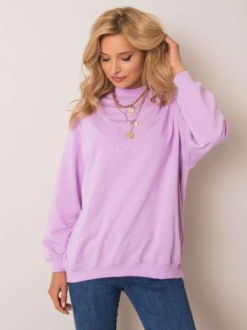 Jasnofioletowa bluza Twist