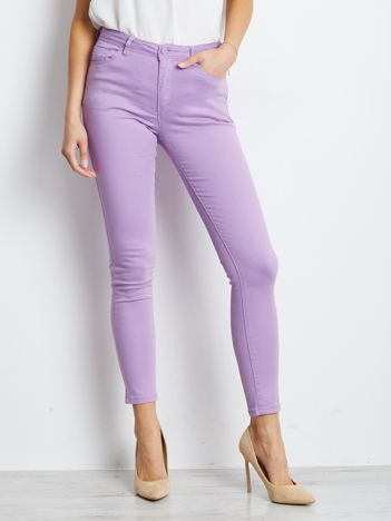 Jasnofioletowe spodnie Meaning