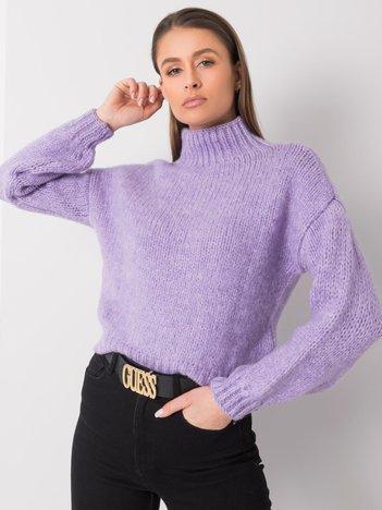 Jasnofioletowy sweter Ariana