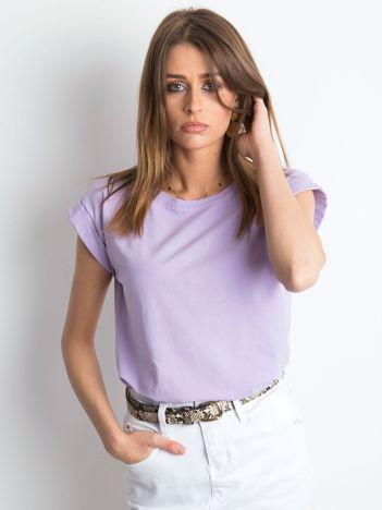 Jasnofioletowy t-shirt Revolution