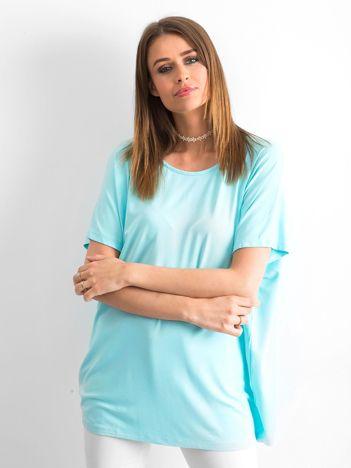 Jasnoniebieska bluzka Oversize