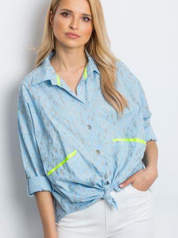Jasnoniebieska koszula Stylish